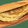 Broodje omelet bacon